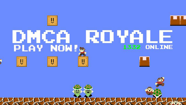 Super Mario Battle Royale Rebrands as DMCA Takedown Battle Royale