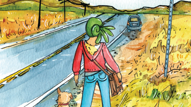 Rethink an Iconic Pilgrimage in <i>The American Dream?: A Journey on Route 66</i> From Cartoonist Shing Yin Khor