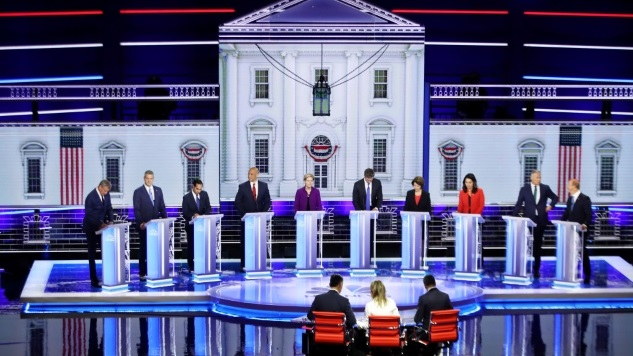 Democrats' use of Spanish in debate evokes praise, eye rolls