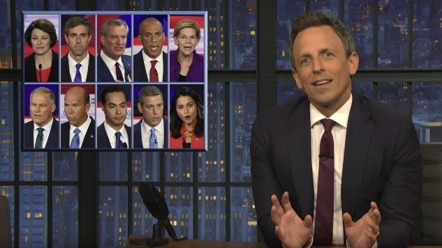 Here's How the Late Night Shows Covered Last Night's Debate