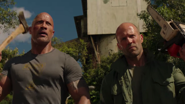 Watch the Ridiculous Final Trailer for <i>Hobbs & Shaw</i>