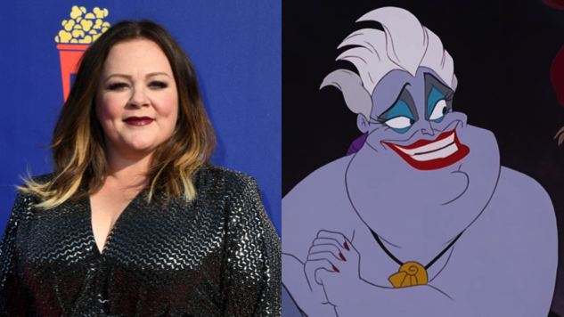 Melissa McCarthy in Talks to Play Ursula in Disney's Live-Action <i>Little Mermaid</i>