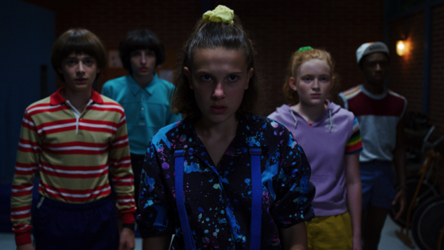 El and the Gang Challenge Demodogs in New Promo Art for <i>Stranger Things</i> Mazes at Universal's Halloween Horror Nights