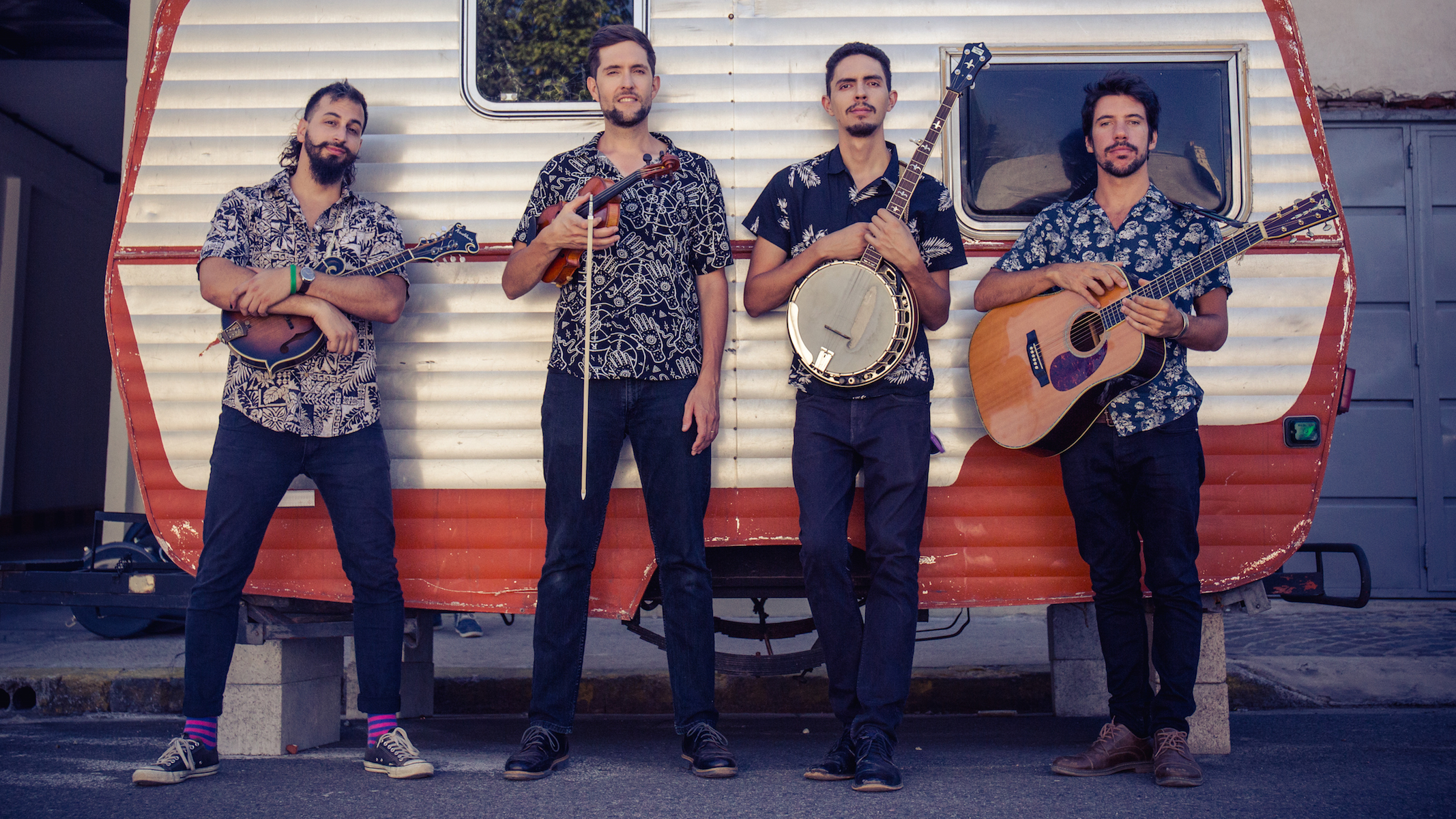 This Band Blends Bluegrass and Latin Roots Music to Poeticize Protest
