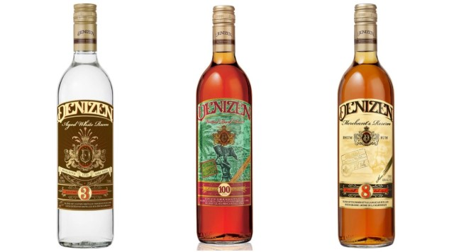 Tasting Three Funky Caribbean Rums from Denizen Rum