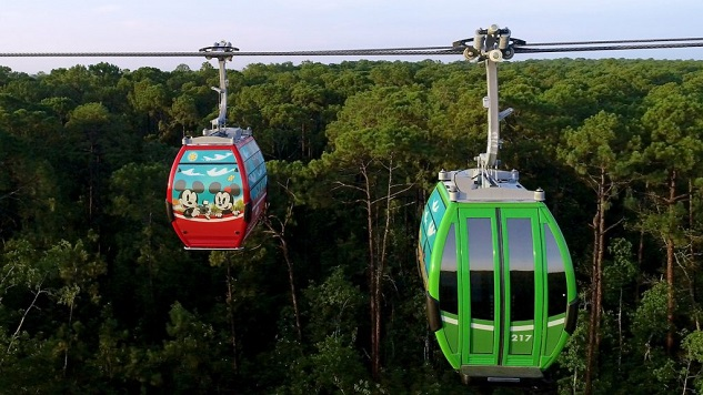 Disney World's Skyliner Gondolas Will Start Service in September