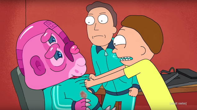 Rick and Morty Season Four Teaser Is Full of Ominous Beeping