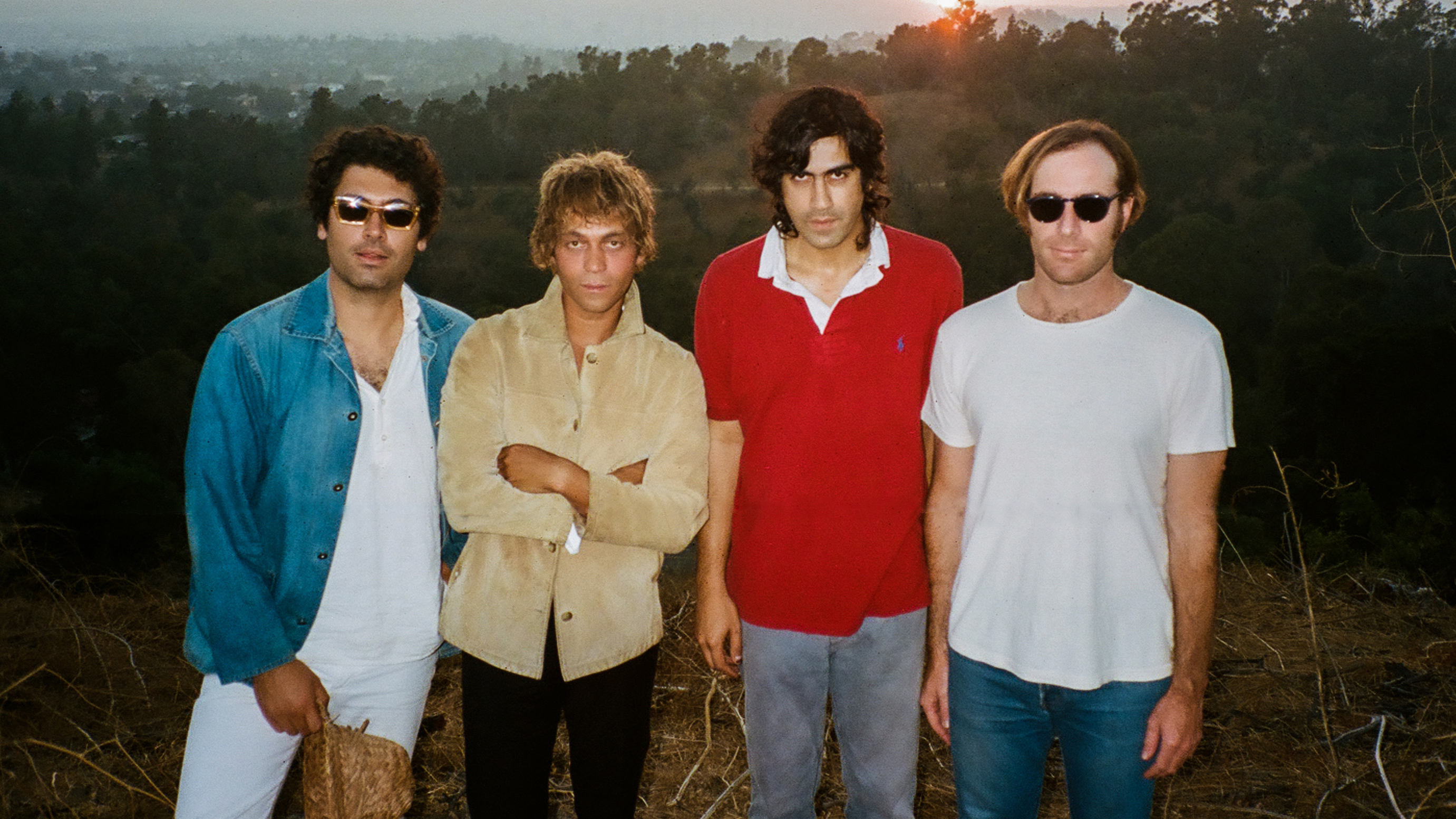 "Allah Las Do Sunny Psychedelic Pop in ""In The Air,"" Lead Single off New Album"