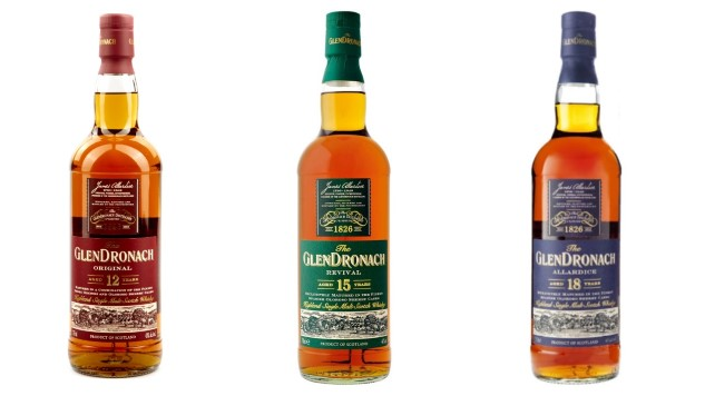 Tasting Three Classic, Sherried Scotches From GlenDronach