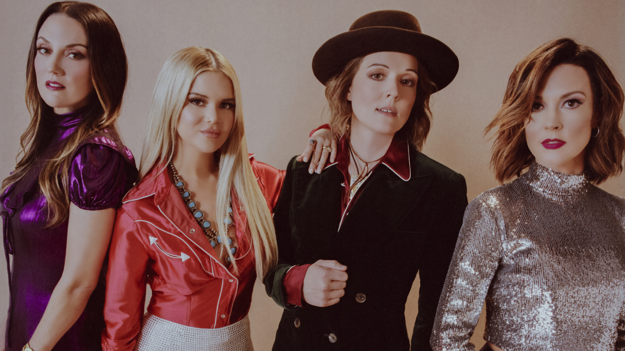 "The Highwomen Gather 'Round a ""Crowded Table"" on New Single"