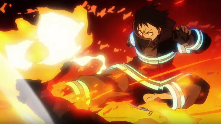firefighter anime fire force self