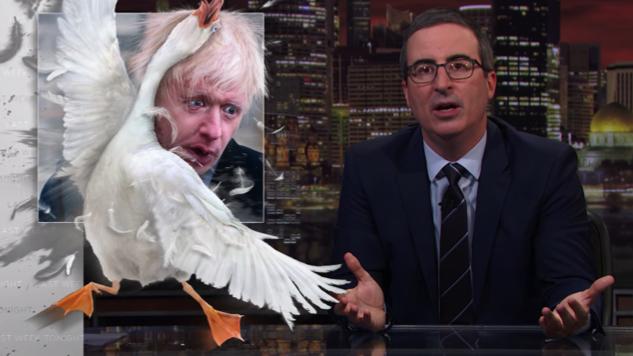 Let John Oliver Introduce You to Boris Johnson, the New Prime Minister of the U.K.