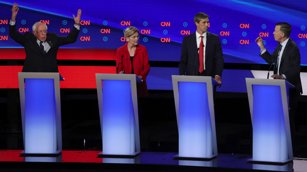 How the Five Candidates Who Can Actually Win Performed in the Debates