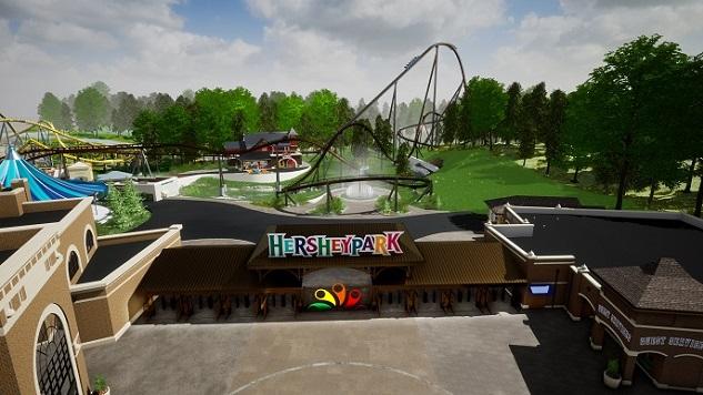 Hersheypark Unveils Its Newest Roller Coaster, Candymonium