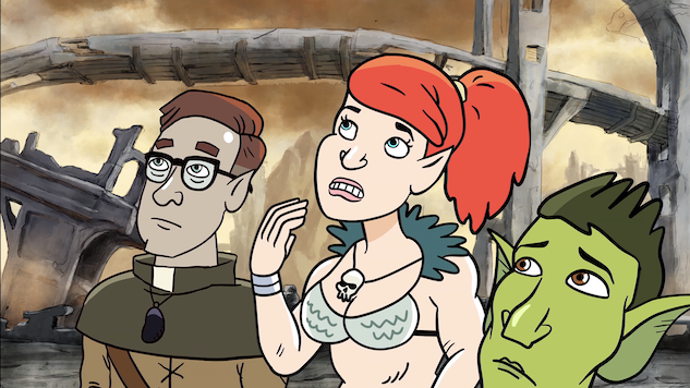 Exclusive: Check Out a Clip From the Season Premiere of <i>HarmonQuest</i> On VRV