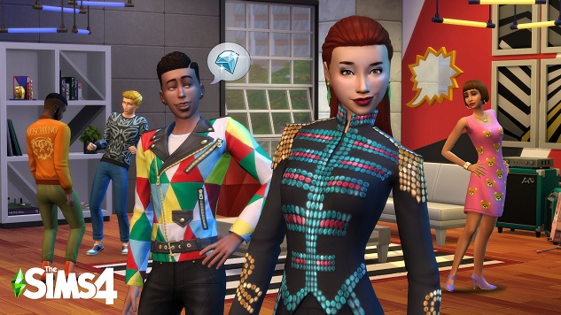 <i>The Sims 4: Moschino Stuff Pack</i> Brings High Fashion to The Sims, with All Its Beauty and Impracticality