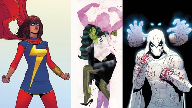 Marvel Announces TV Shows for Disney+ Starring She-Hulk, Ms. Marvel and Moon Knight