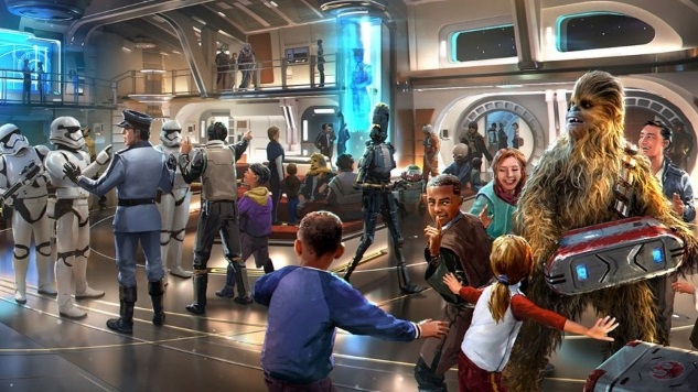 Disney's Star Wars Hotel Will Be a Two-Day Immersive Experience Patterned on Cruise Ships