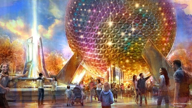 Epcot's Midlife Crisis: Disney Reveals a Huge Makeover for the Park's 40th Birthday
