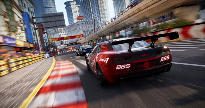 Living On the <i>GRID</i>: Behind the Wheel of the Realistic New Racing Reboot