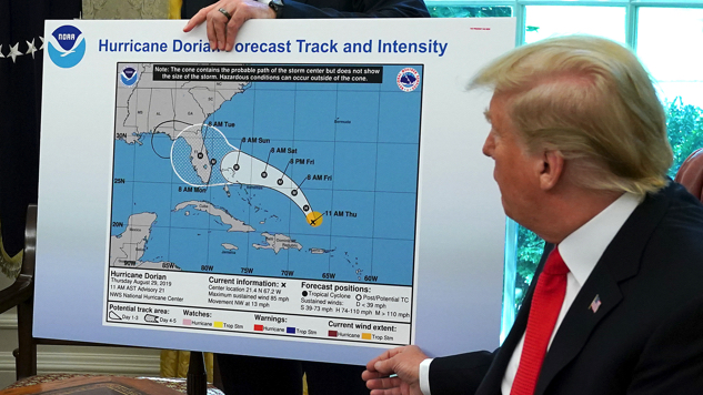 It Was Donald Trump Himself Who Took a Sharpie to That Hurricane Map, Per Report