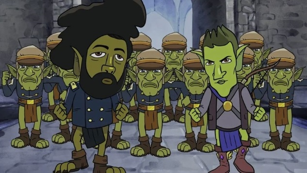 Watch Reggie Watts and a Squad of Goblins Dance into Battle in This <i>HarmonQuest</i> Clip