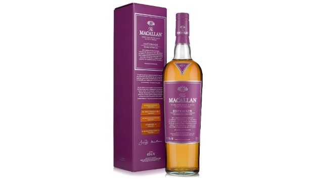 The Macallan Has Revealed Its New Pantone Collaboration, the Macallan Edition Purple