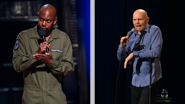 Bill Burr and Dave Chappelle Don't Understand Society in 2019, and They Don't Want To Try