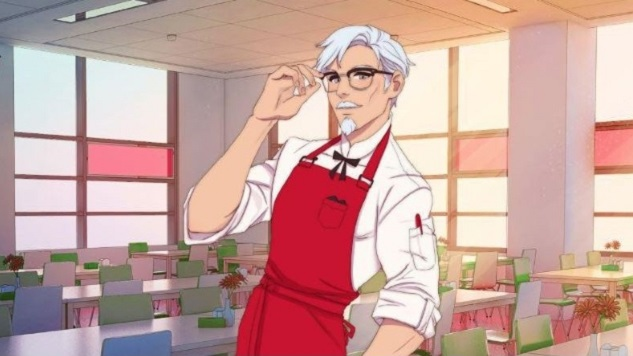 8 Great Visual Novels to Play While You're Waiting for the KFC Visual Novel with Hunky Colonel Sanders