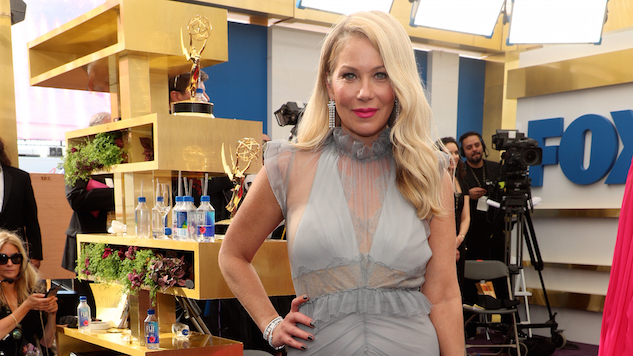 Christina Applegate Was Queen of Roasts During Emmys Red Carpet Cringefest