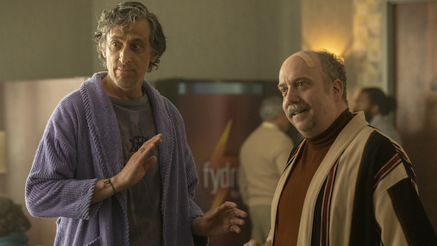 Watch: Paul Giamatti Gives Blaise Some Questionable Advice on the Next <i>Lodge 49</i>