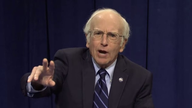 Watch Larry David and Maya Rudolph Play Democratic Candidates on <i>SNL</i>