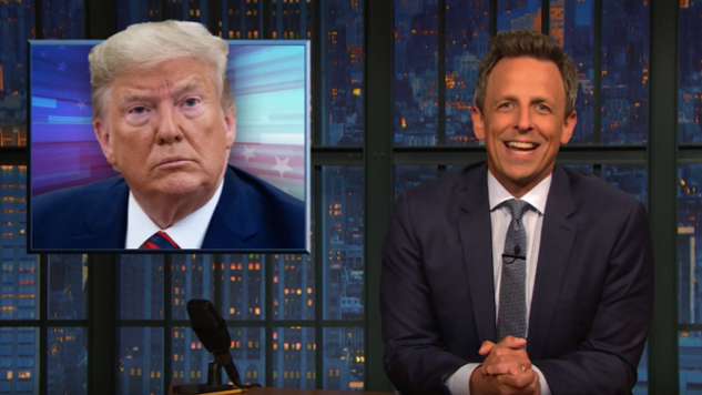 Seth Meyers Takes a Closer Look at Trump's Meltdown Amid Impeachment Inquiry