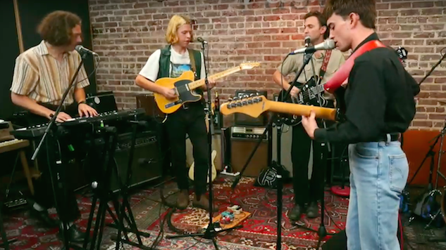 Watch Pottery Bring Their Blues-Laced Post-Punk to Atlanta's <i>Paste</i> Studio