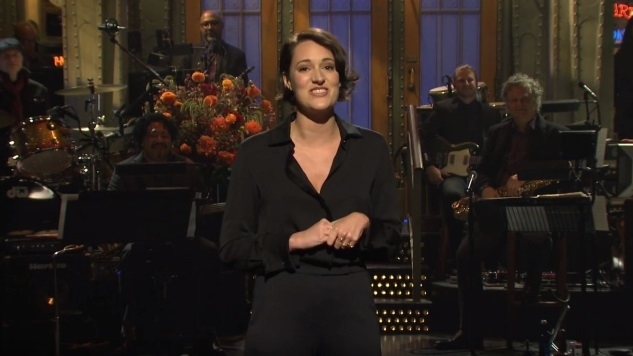 Watch Phoebe Waller-Bridge Talk about <i>Fleabag</i> in Her <i>Saturday Night Live</i> Monologue