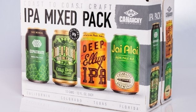 Tasting the 4 IPAs in CANarchy's New Mixed Variety Pack