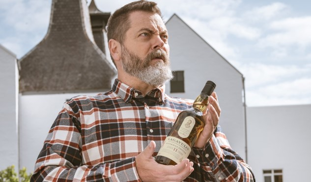 Drink Like Swanson: Nick Offerman's Lagavulin Single Malt is Here