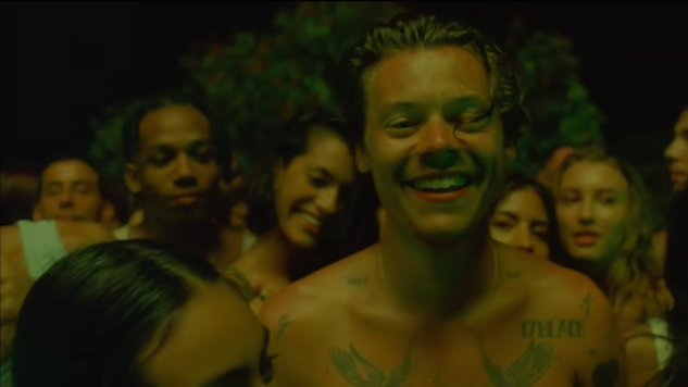"Harry Styles' ""Lights Up"" Video Solidifies the Star as a 21st Century Sex Symbol"