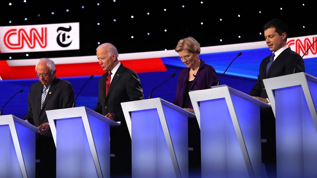 The Funniest Tweets about the Democratic Debate