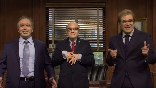"Watch <i>SNL</i>'s ""Giuliani & Associates"" Legal Ad that Was Cut for Time"