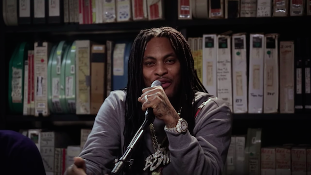 Watch Waka Flocka Flame in the <i>Paste</i> Studio Two Years Ago Today