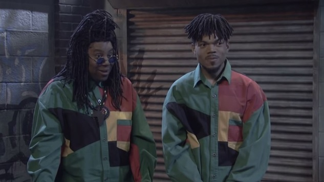 Chance the Rapper Stars in an '80s Anti-Drug PSA in <i>SNL</i>'s Latest Cut for Time Sketch