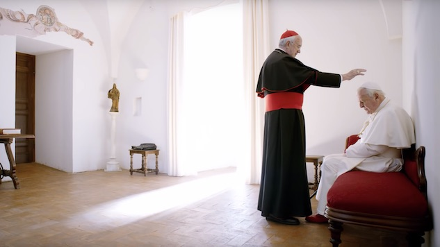 Jonathan Pryce and Anthony Hopkins Run the Church in Netflix's <i>The Two Popes</i> Trailer