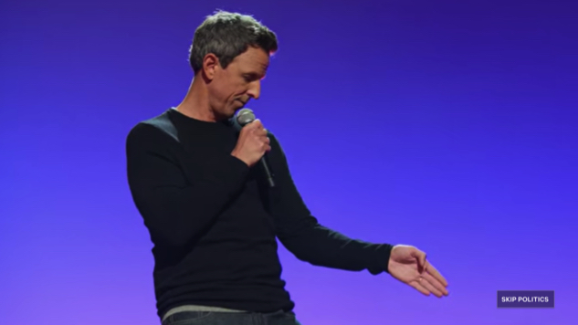 Seth Meyers' New Netflix Special <i>Lobby Baby</i> Lets You Skip Over His Trump Jokes