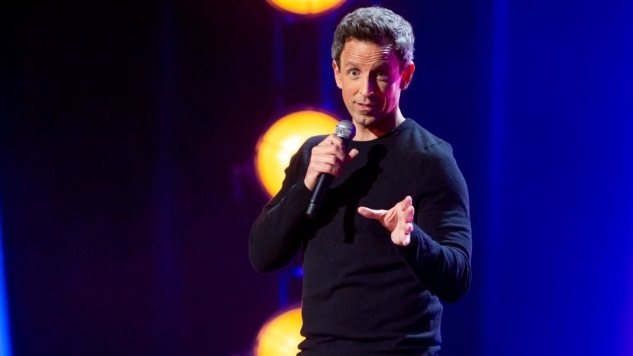Seth Meyers Aces His Latest Test with <i>Lobby Baby</i>