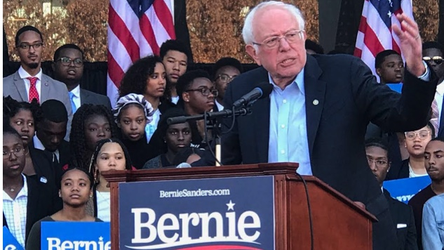 Bernie Sanders Announces Expanded HBCU Debt Relief and Training at Morehouse Rally