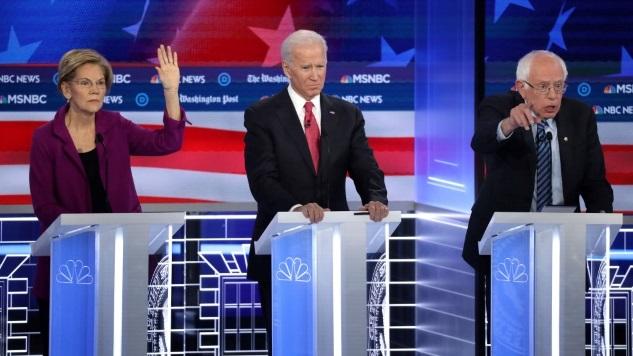 The Funniest Tweets from Last Night's Democratic Debate