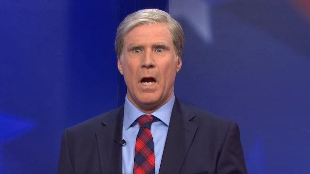 Will Ferrell Leads an All-Star Cast in <i>SNL</i>'s Take on the Democratic Debate