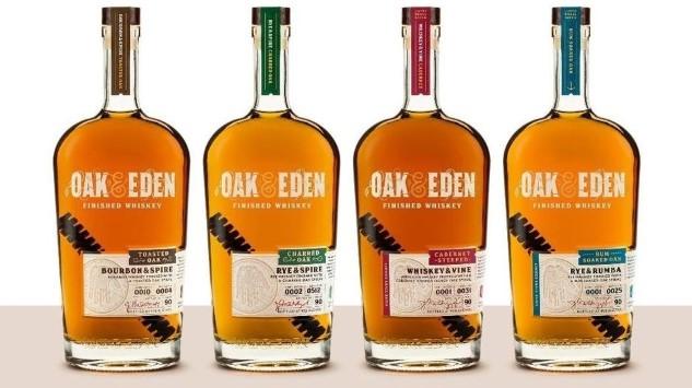 Oak & Eden Whiskey Reviews -- Bourbon & Spire, Bourbon & Vine
