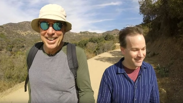 Watch Mike Birbiglia Share His Medical History with Kevin Nealon in This Exclusive <i>Hiking With Kevin</i> Clip